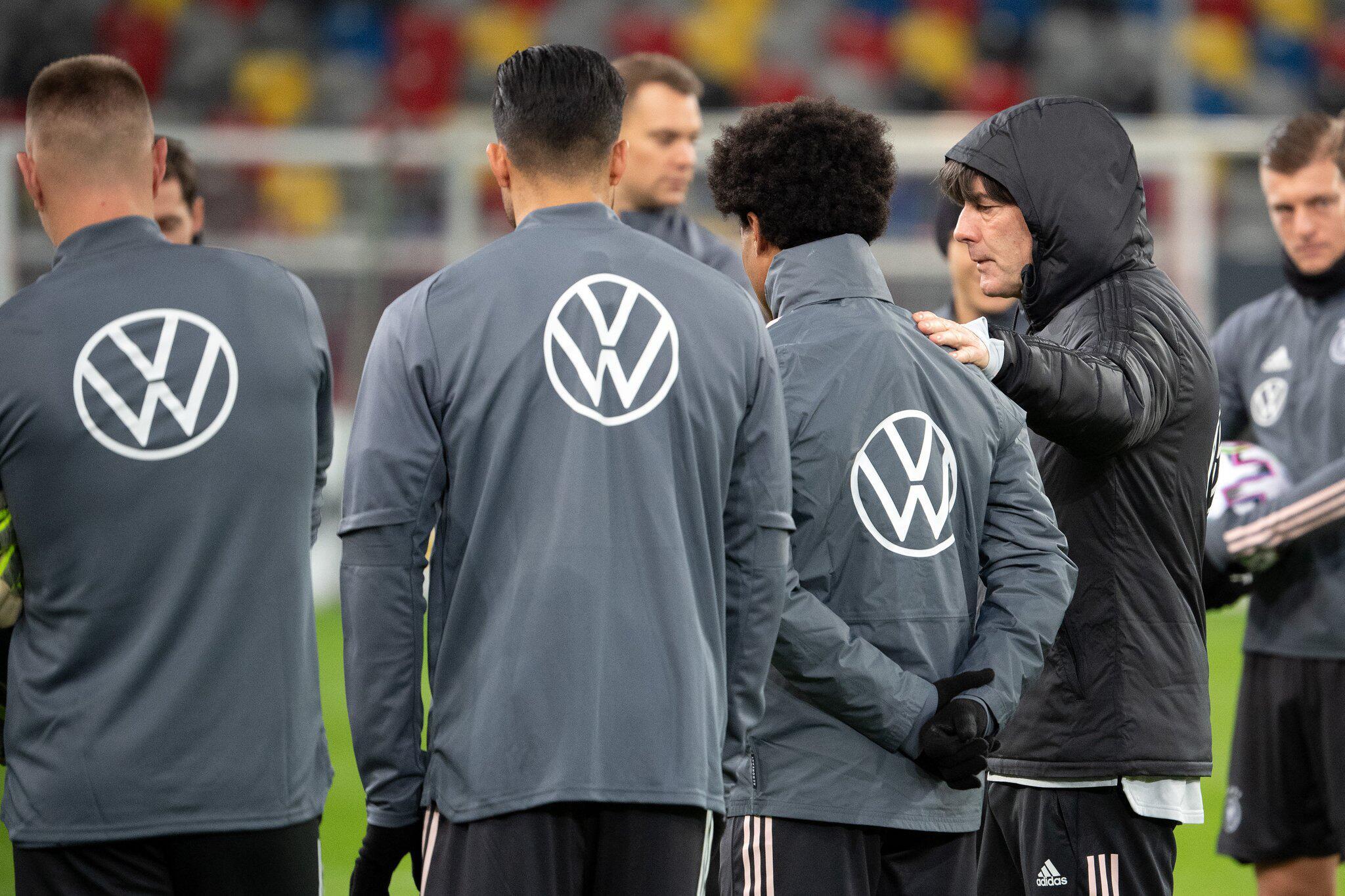 Bild zu Nationalmannschaft - Training