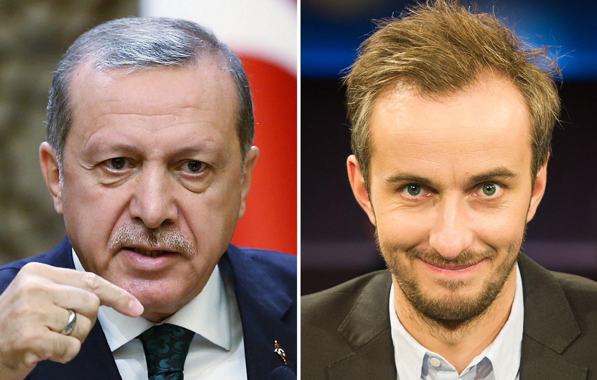 Bild zu Recep Tayyip Erdogan Jan Böhmermann.