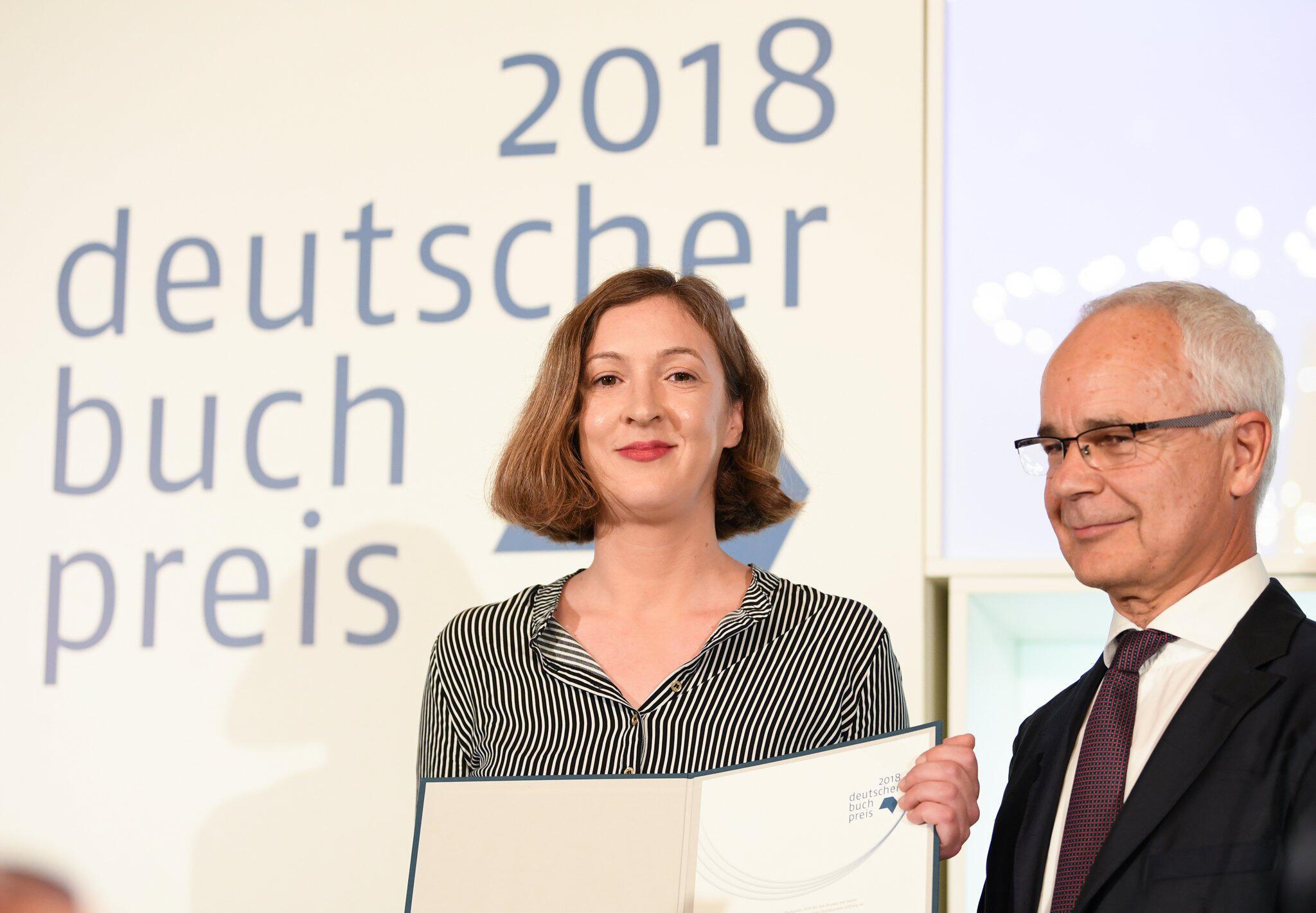 Bild zu Deutscher Buchpreis 2018 an Inger-Maria Mahlke