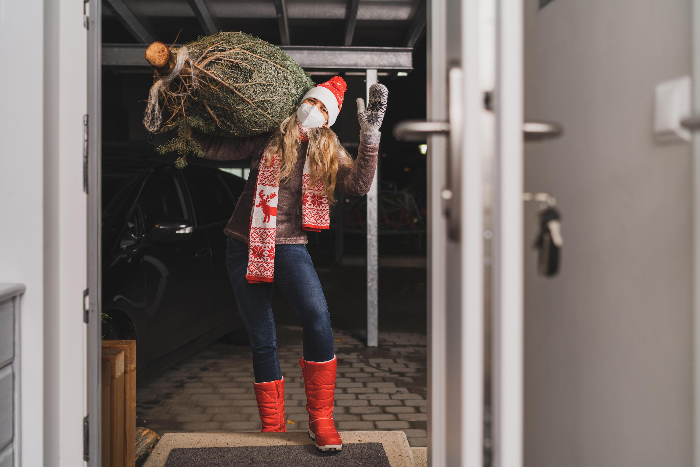 Bild zu Weihnachtsbaum, Lockdown