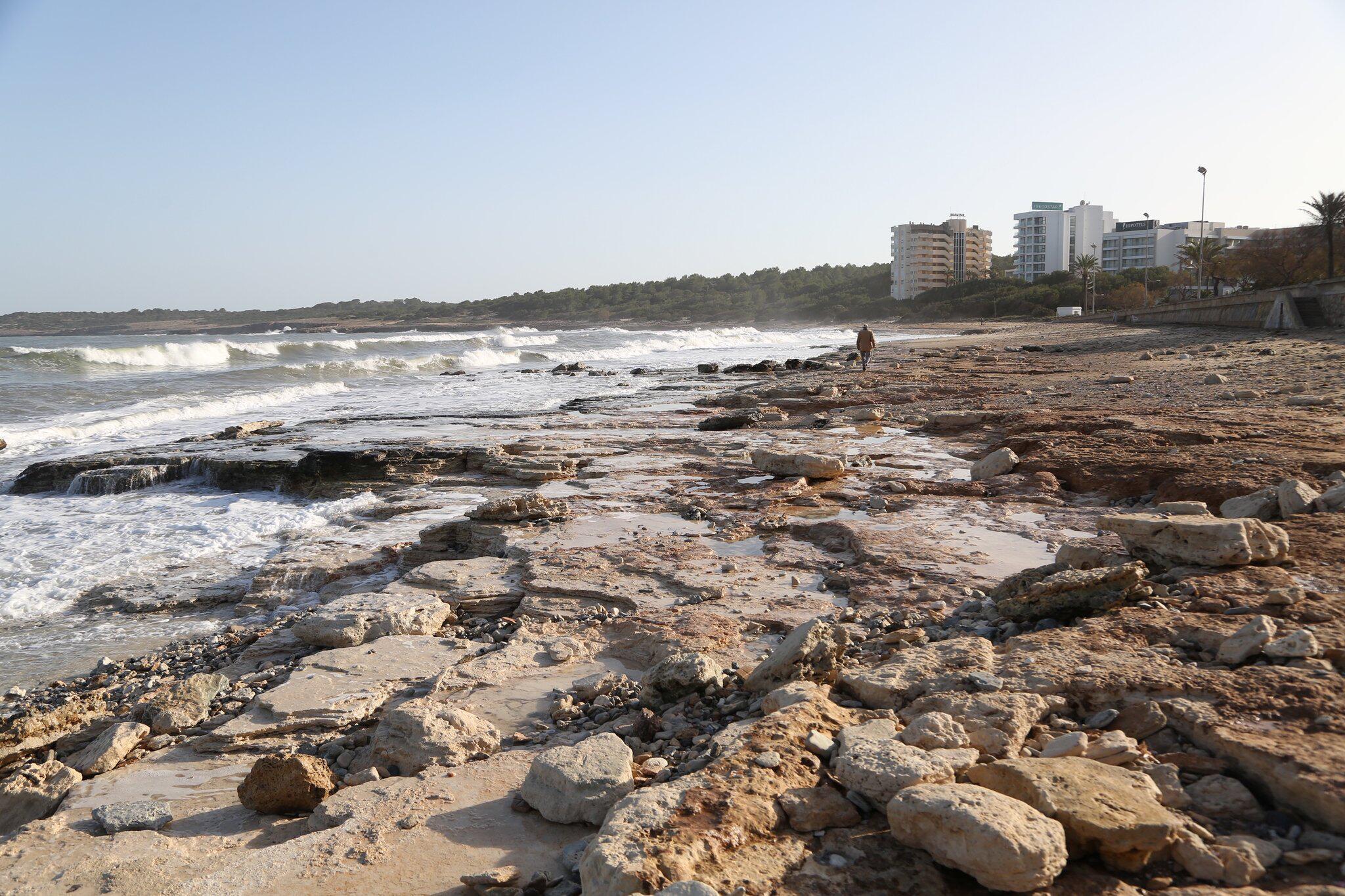 Bild zu Schäden an den Stränden im Osten Mallorcas