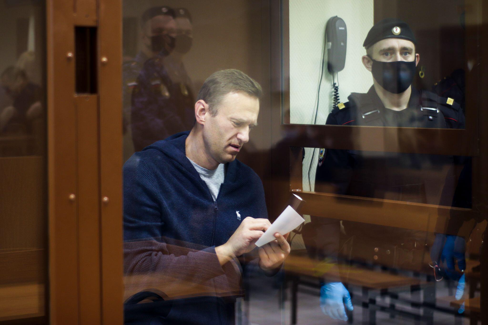 Bild zu Fortsetzung Verhandlung gegen Kremlkritiker Nawalny