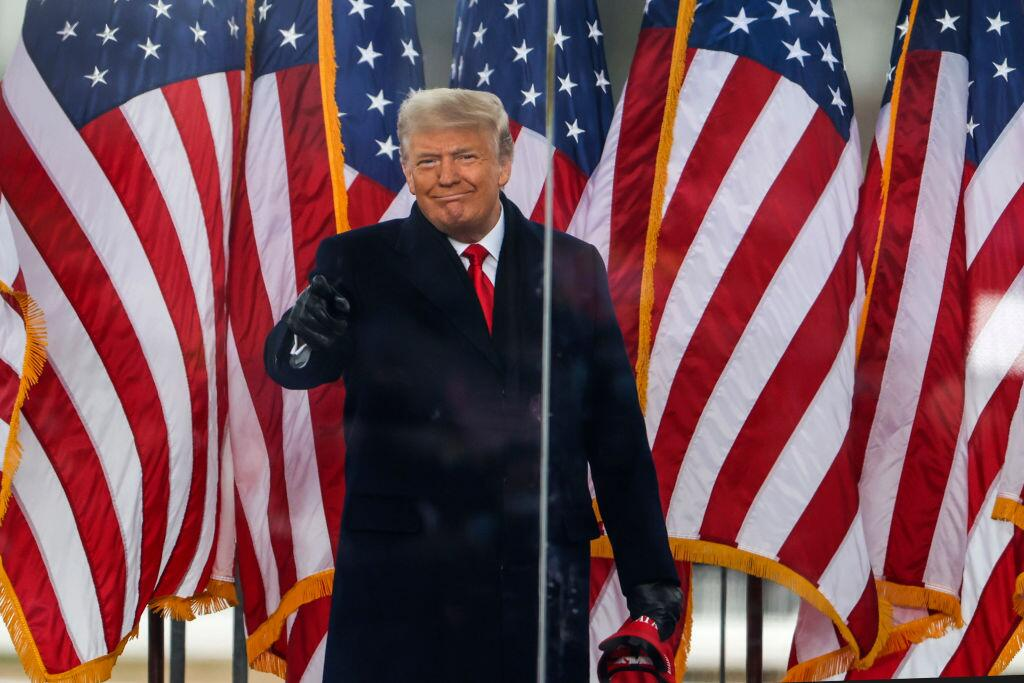 Bild zu Donald Trump war der 45. Präsident der USA.