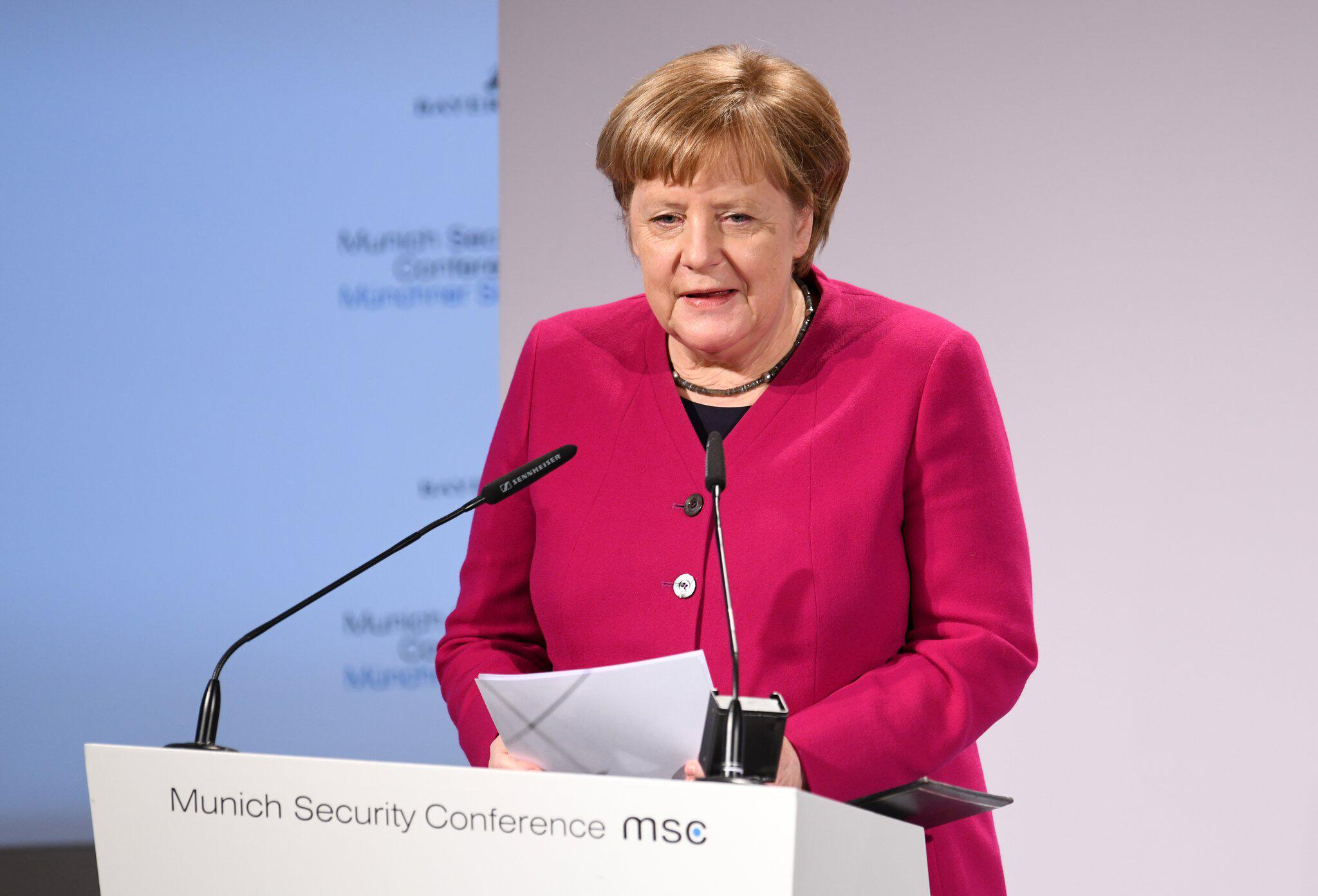 Bild zu 55. Munich Security Conference, München, Angela Merkel, Rede, Bundeskanzlerin