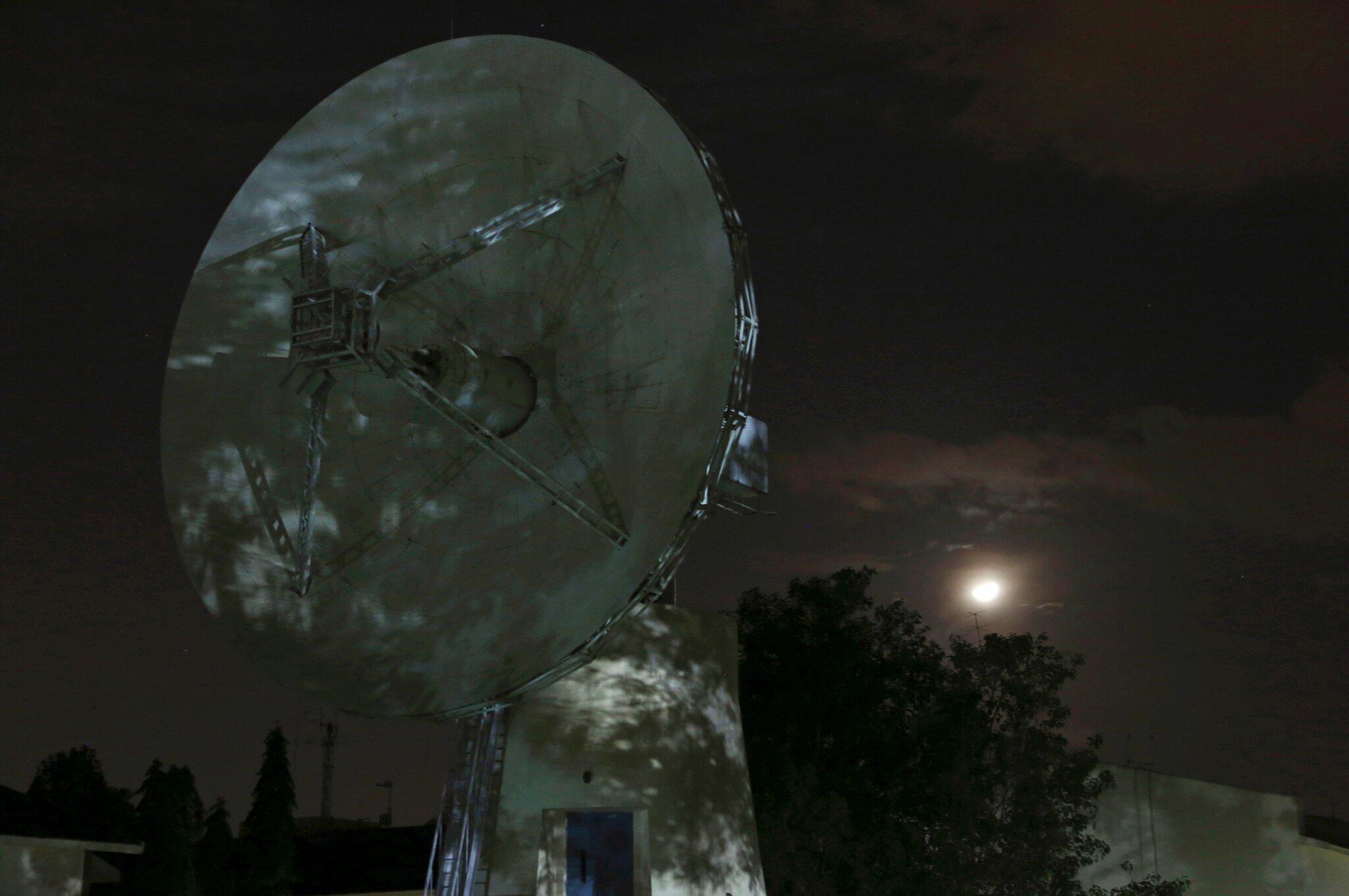 Bild zu Parabol-Antenne der Indian Space Research Organization