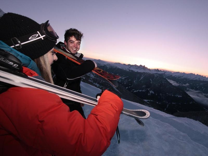 Bild zu Sonnenaufgänge auf der Skipiste