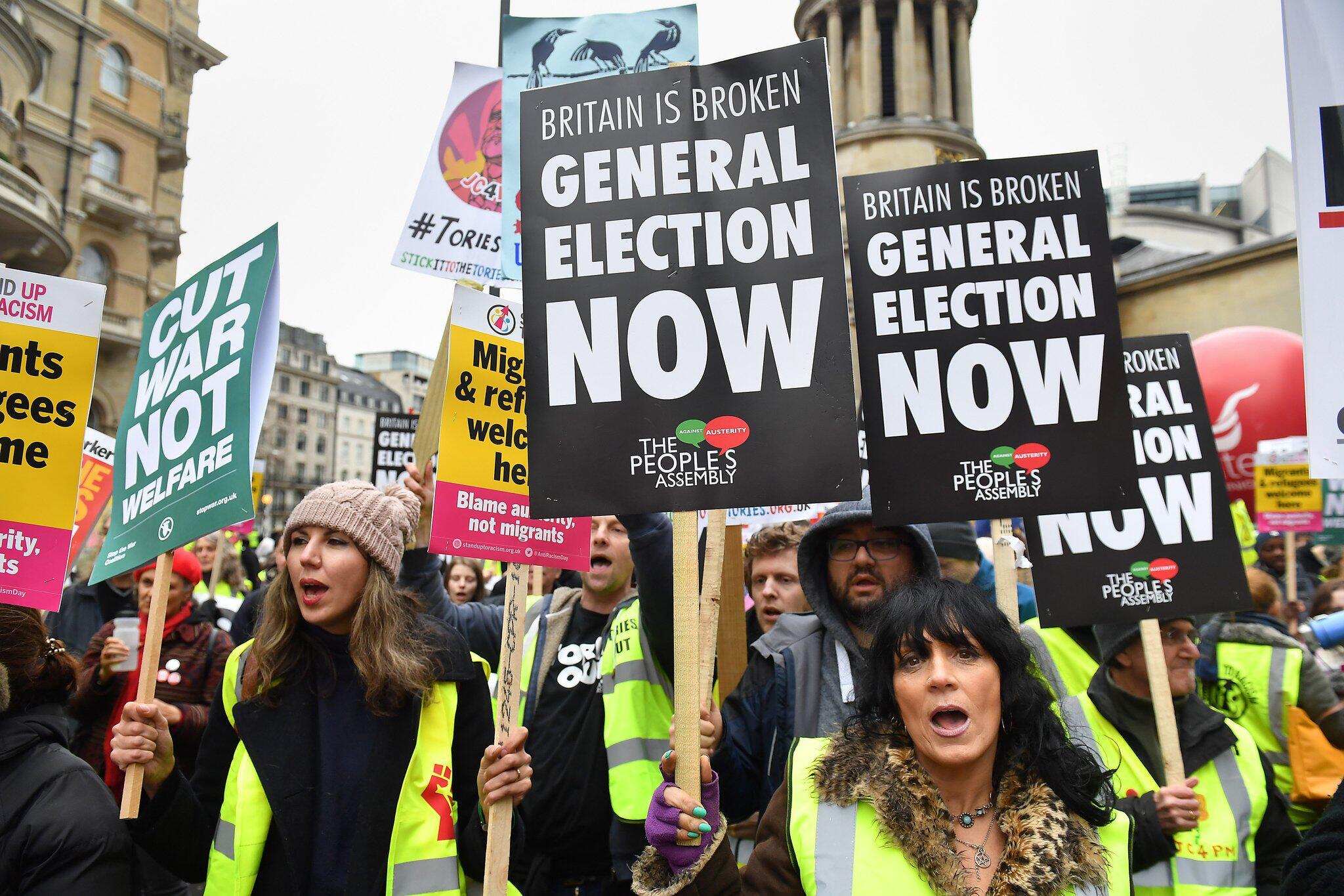 Bild zu Demonstration in London
