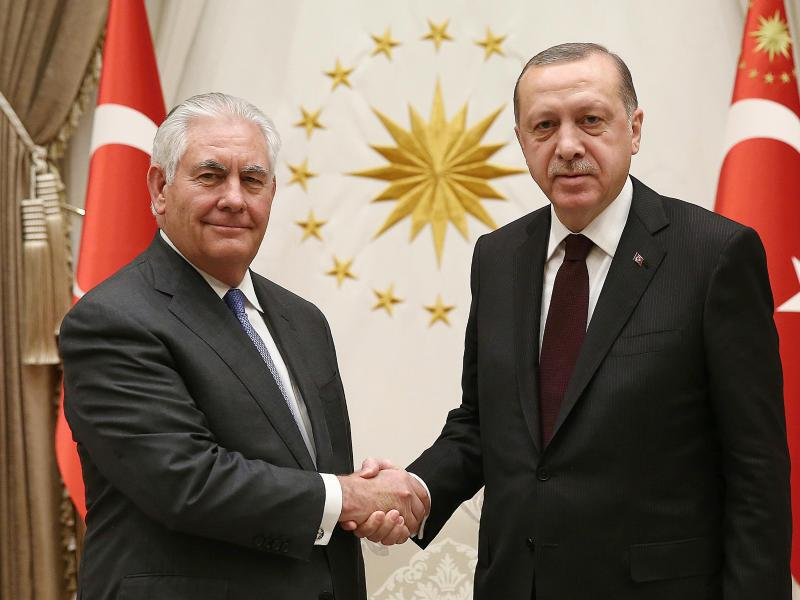 Bild zu US-Außenminister in der Türkei