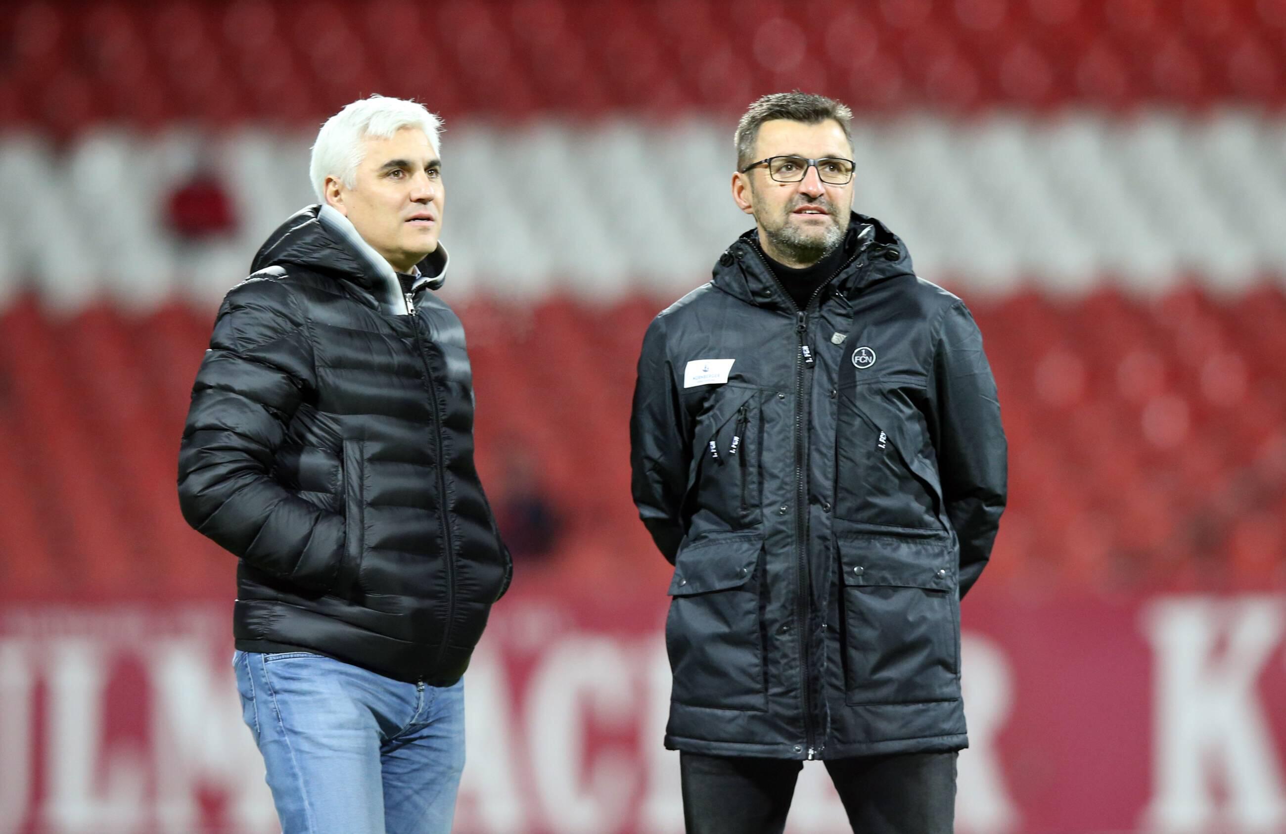 Bild zu Bundesliga, Nürnberg, Köllner, Bornemann