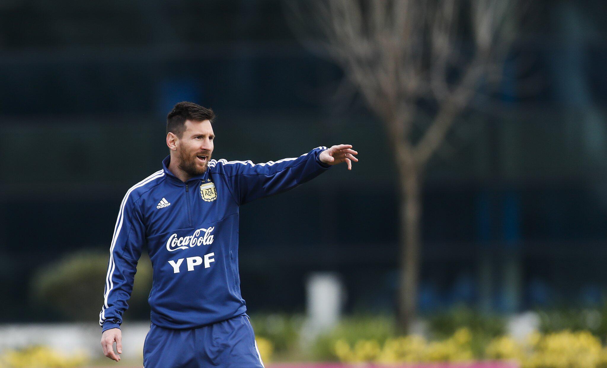 Bild zu Vor der Copa America - Argentinien