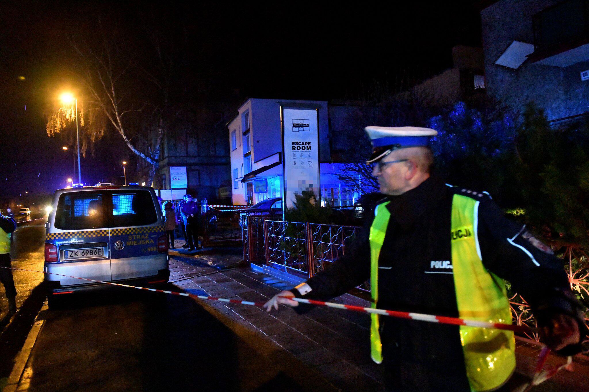 Bild zu Feuer tötet fünf Frauen in Escape Room