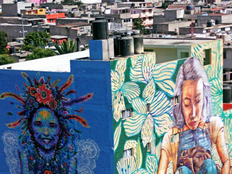 Bild zu Streetart in Mexiko