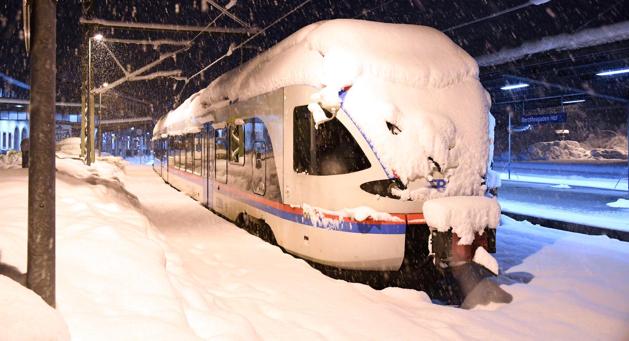 Bild zu Wintereinbruch in Bayern