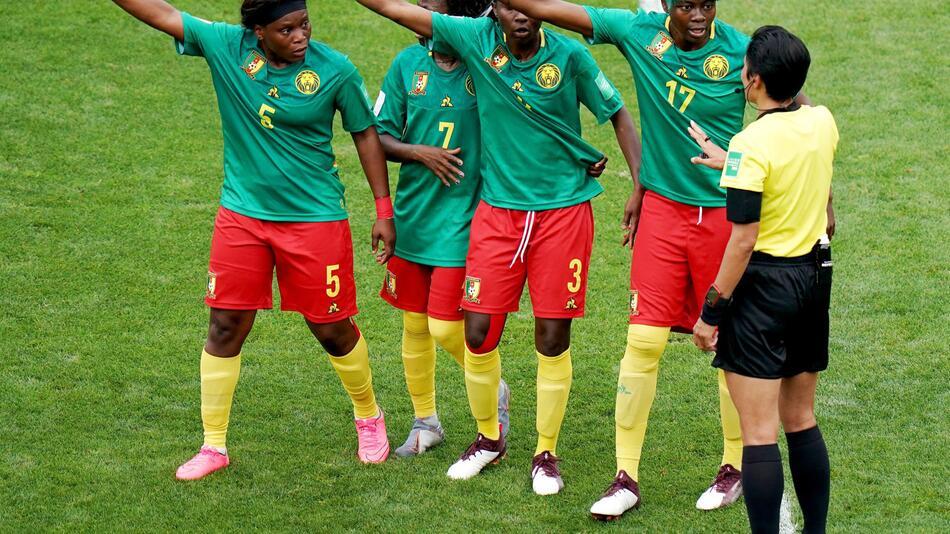 Frauenfußball-WM, Frauen-WM 2019, Frankreich, Achtelfinale, Valenciennes, England, Kamerun