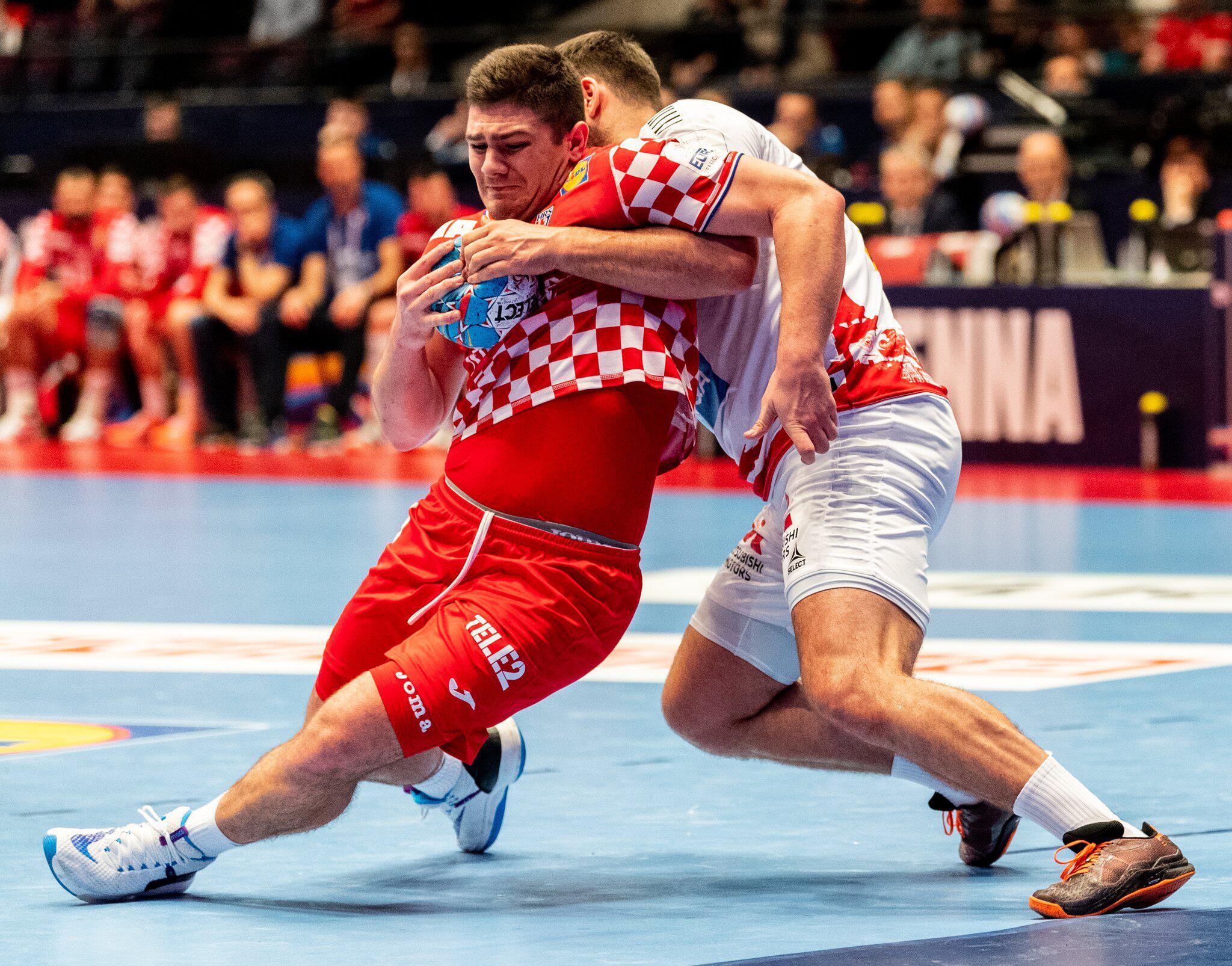 Bild zu Handball EM: Kroatien - Österreich