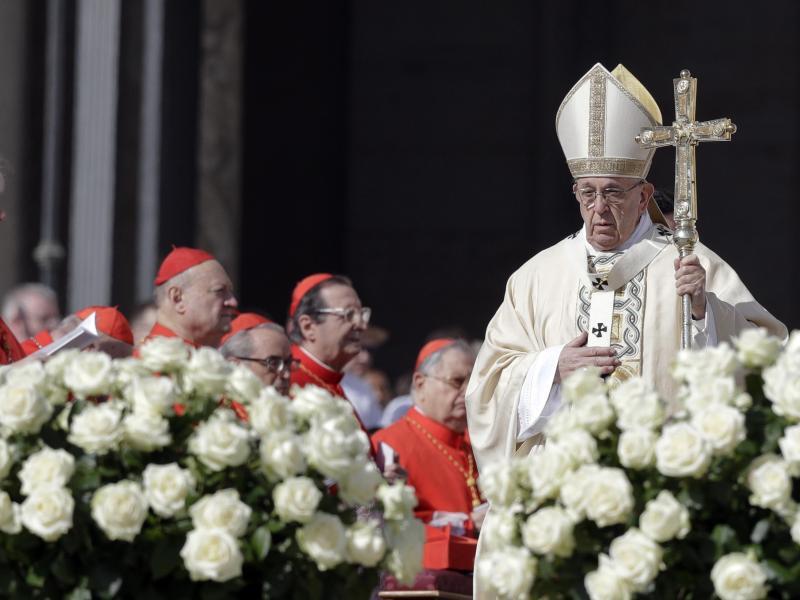 Bild zu Papst Franziskus