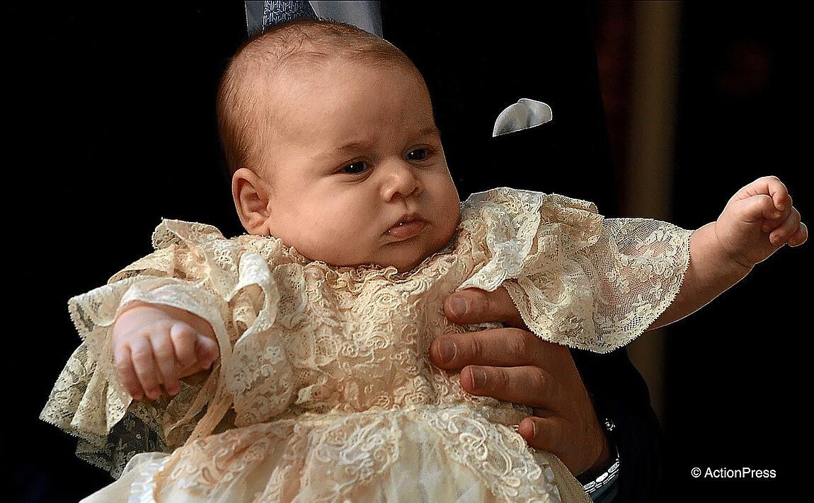 Bild zu Prinzessin Charlotte wird getauft