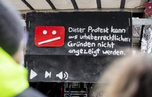 Protest gegen Uploadfilter und EU-Urheberrechtsreform