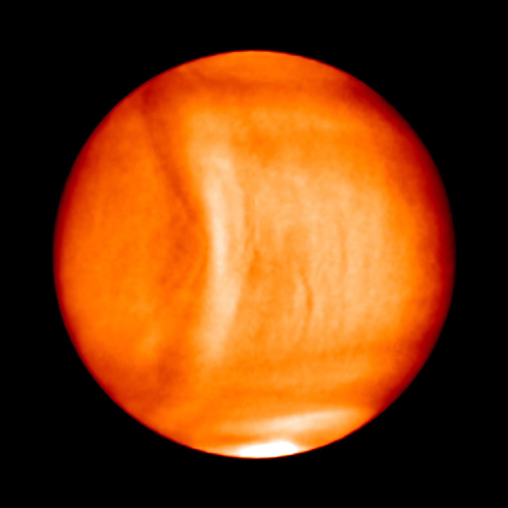 Bild zu Venus, Planet, Struktur