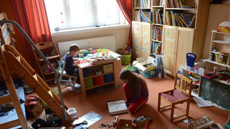 Kinderzimmer gehackt