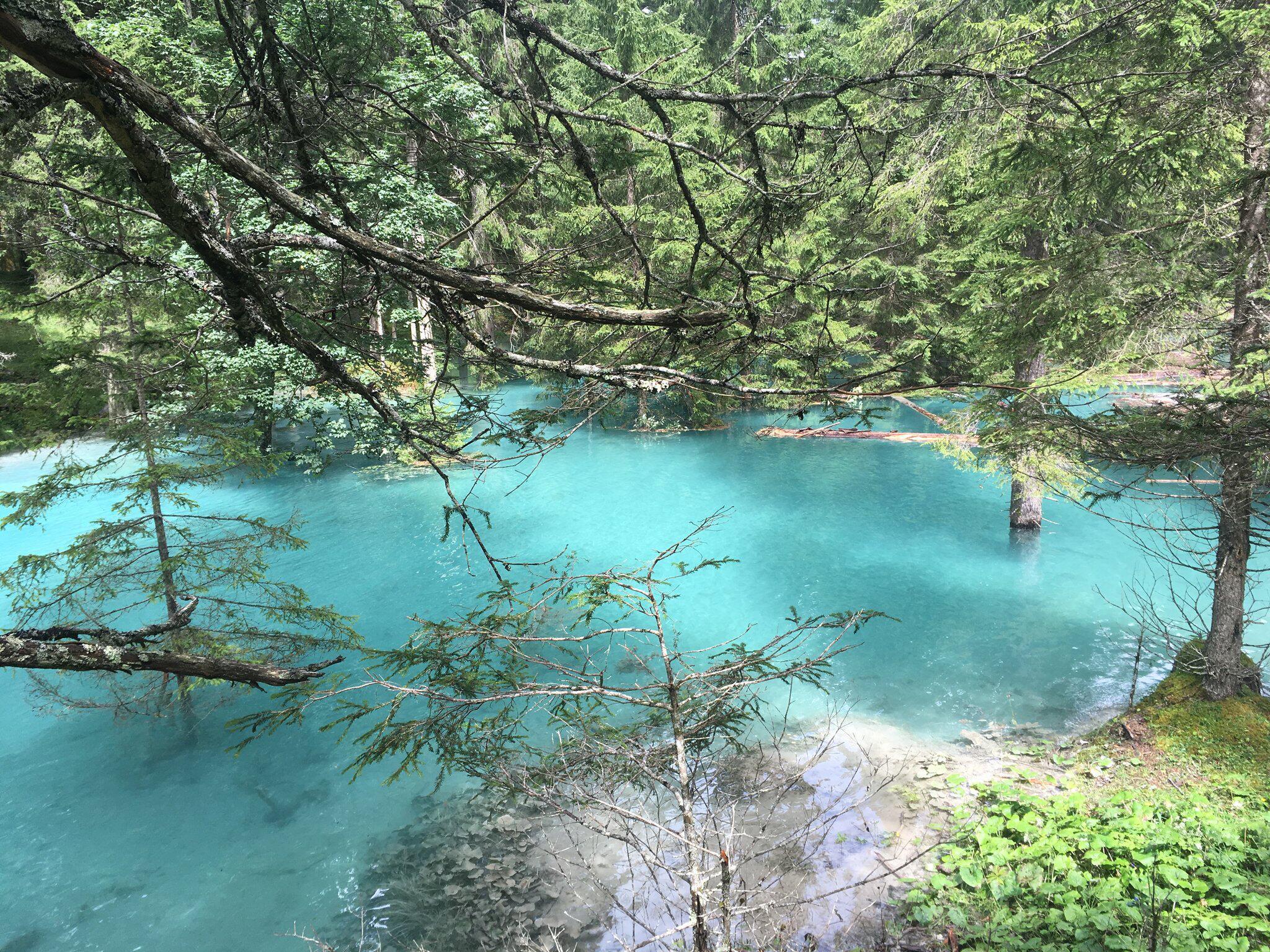 Bild zu New lakes due to heavy rains