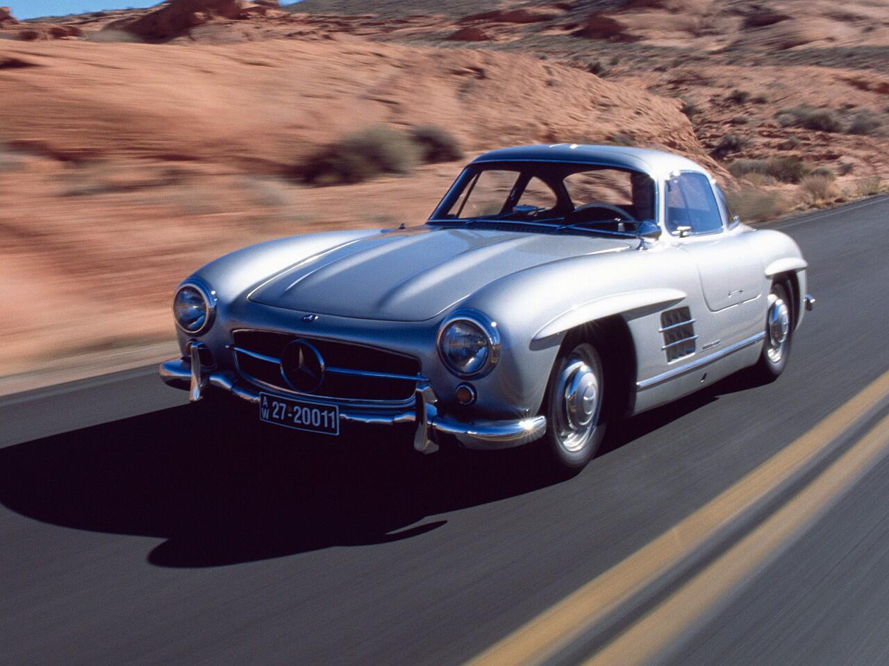 Bild zu Platz 2: Mercedes 300 SL