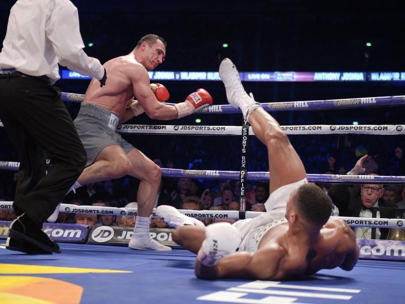 Bild zu Wladimir Klitschko, Anthony Joshua