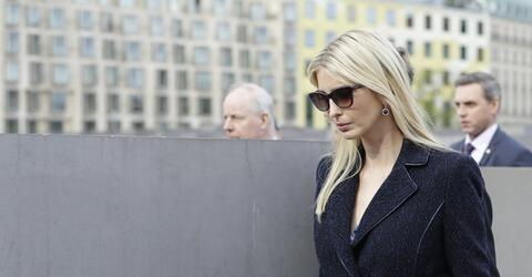 W20 Summit- Ivanka Trump visits Holocaust memorial