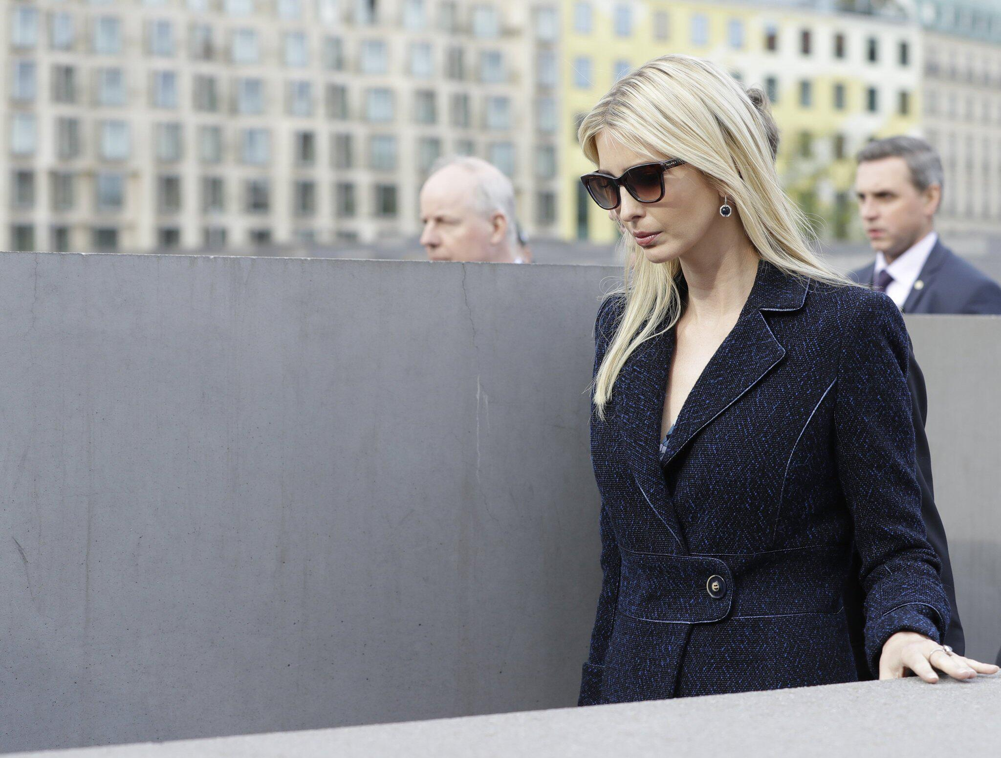 Bild zu W20 Summit- Ivanka Trump visits Holocaust memorial