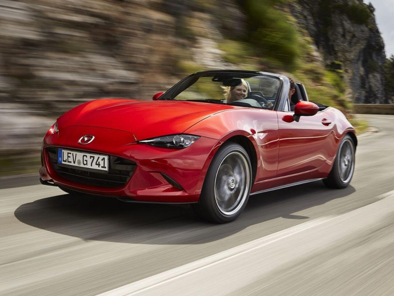 Bild zu Platz 4 - Hersteller: Mazda