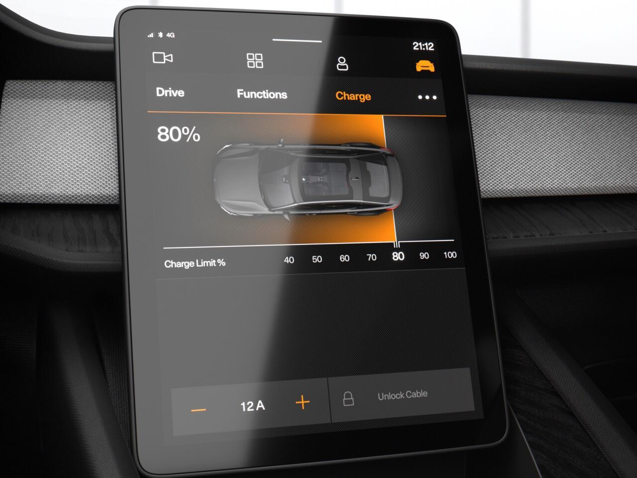 Bild zu Großer Touchscreen als zentrale Informationseinheit