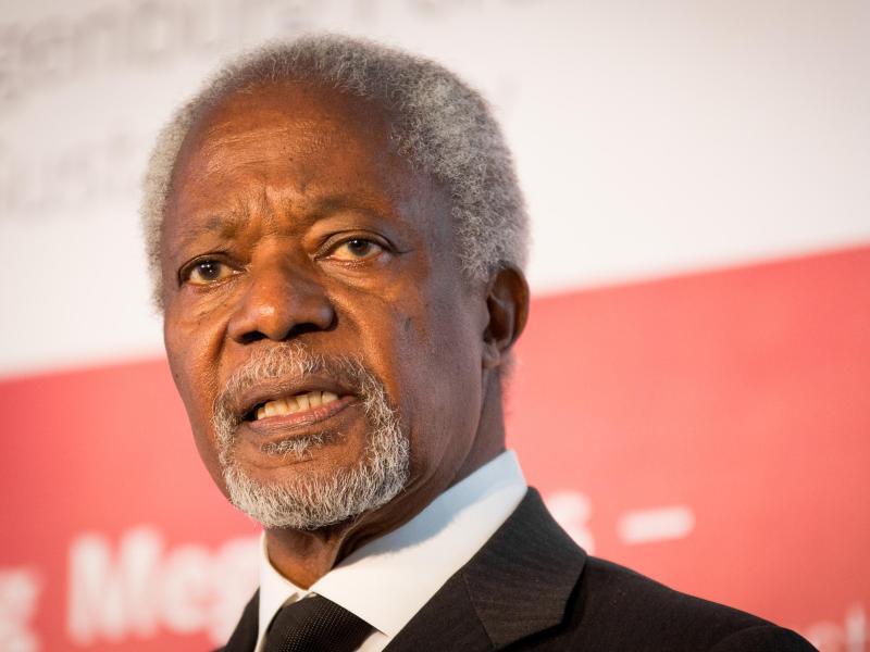 Bild zu Kofi Annan