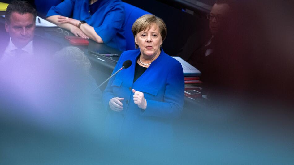Bundestag, Fragestunde, Berlin, Bundeskanzlerin, Angela Merkel, Brexit