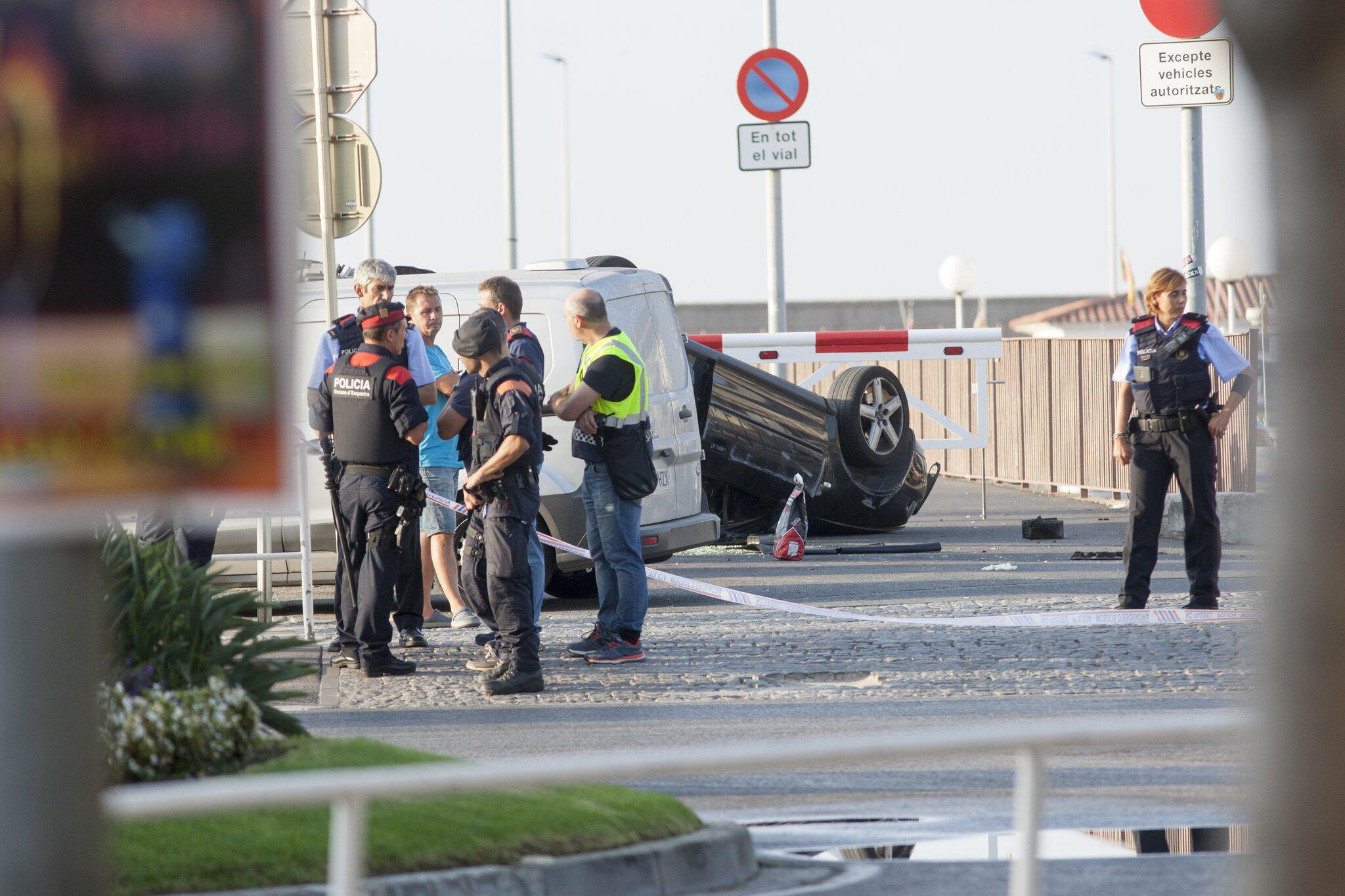 Bild zu Terroranschlag in Spanien - Tatort in Cambrils