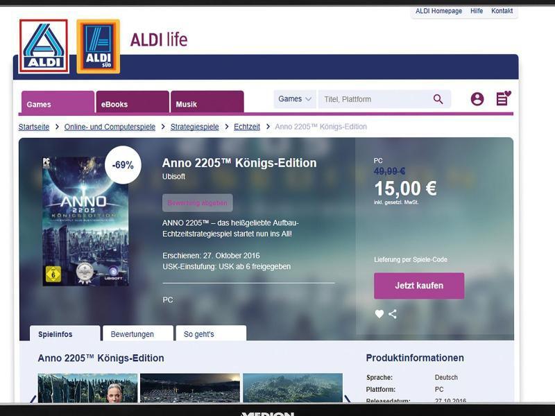Bild zu Startseite von Aldi Life