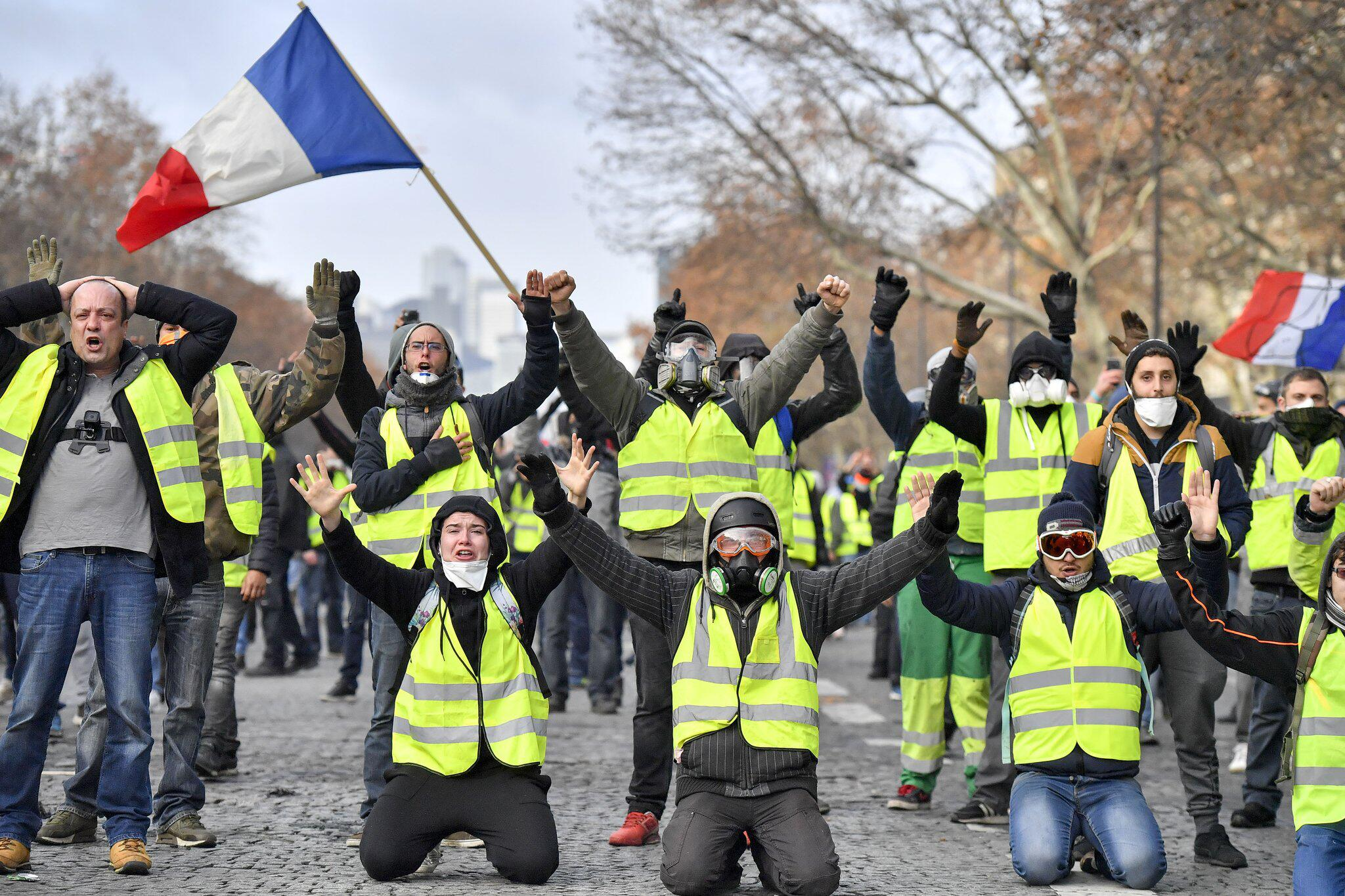 Französische Polizei nimmt vor