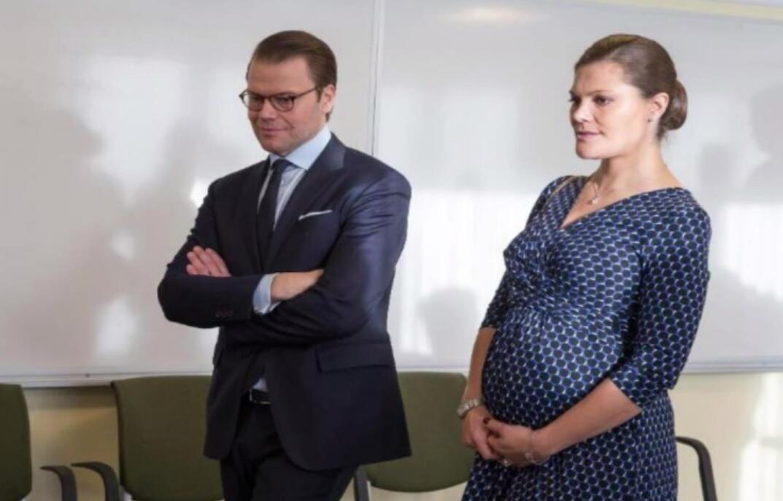 Bild zu Victorias Babybauch