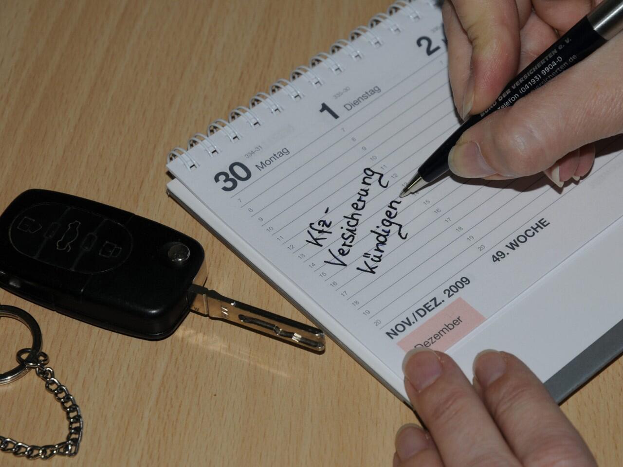 Bild zu Versicherungswechsel: Jährlich zum 30. November möglich