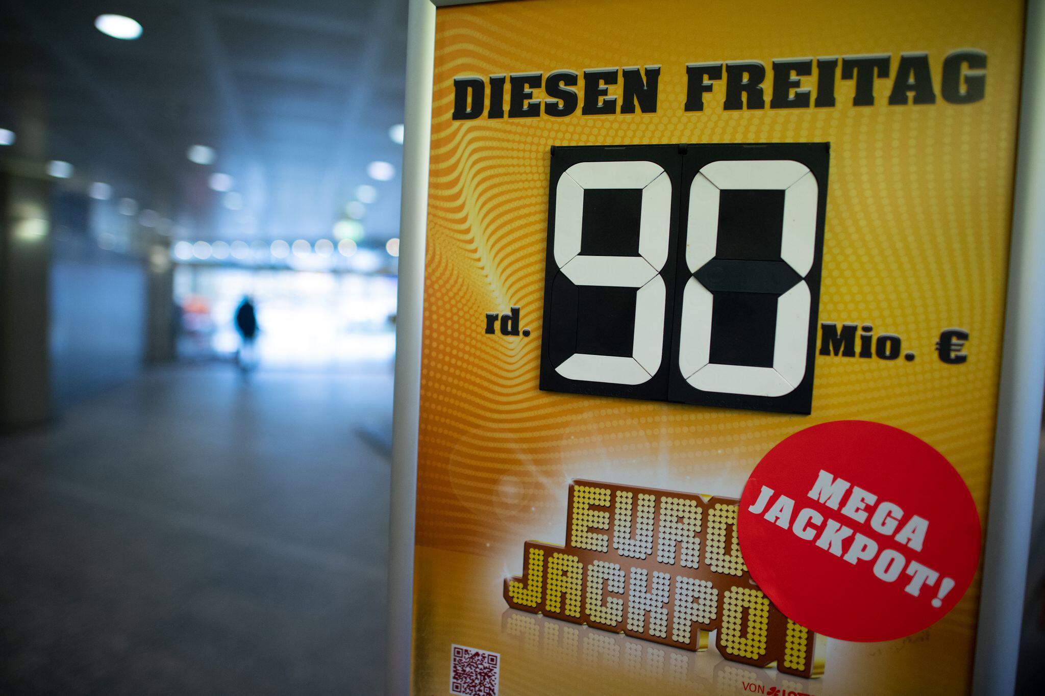 Bild zu Eurojackpot 90 Millionen Euro
