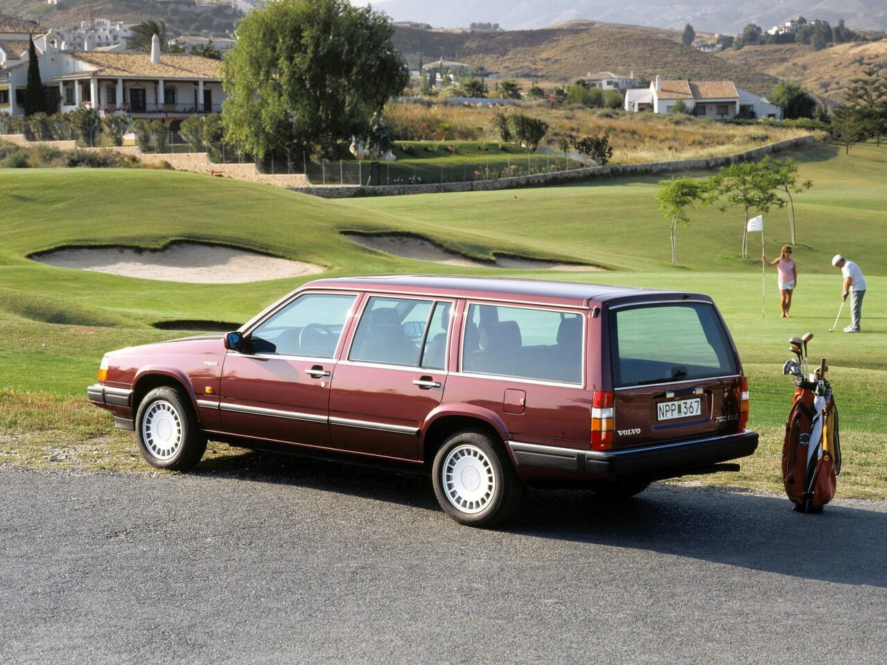 Bild zu Platz 3: Volvo 760