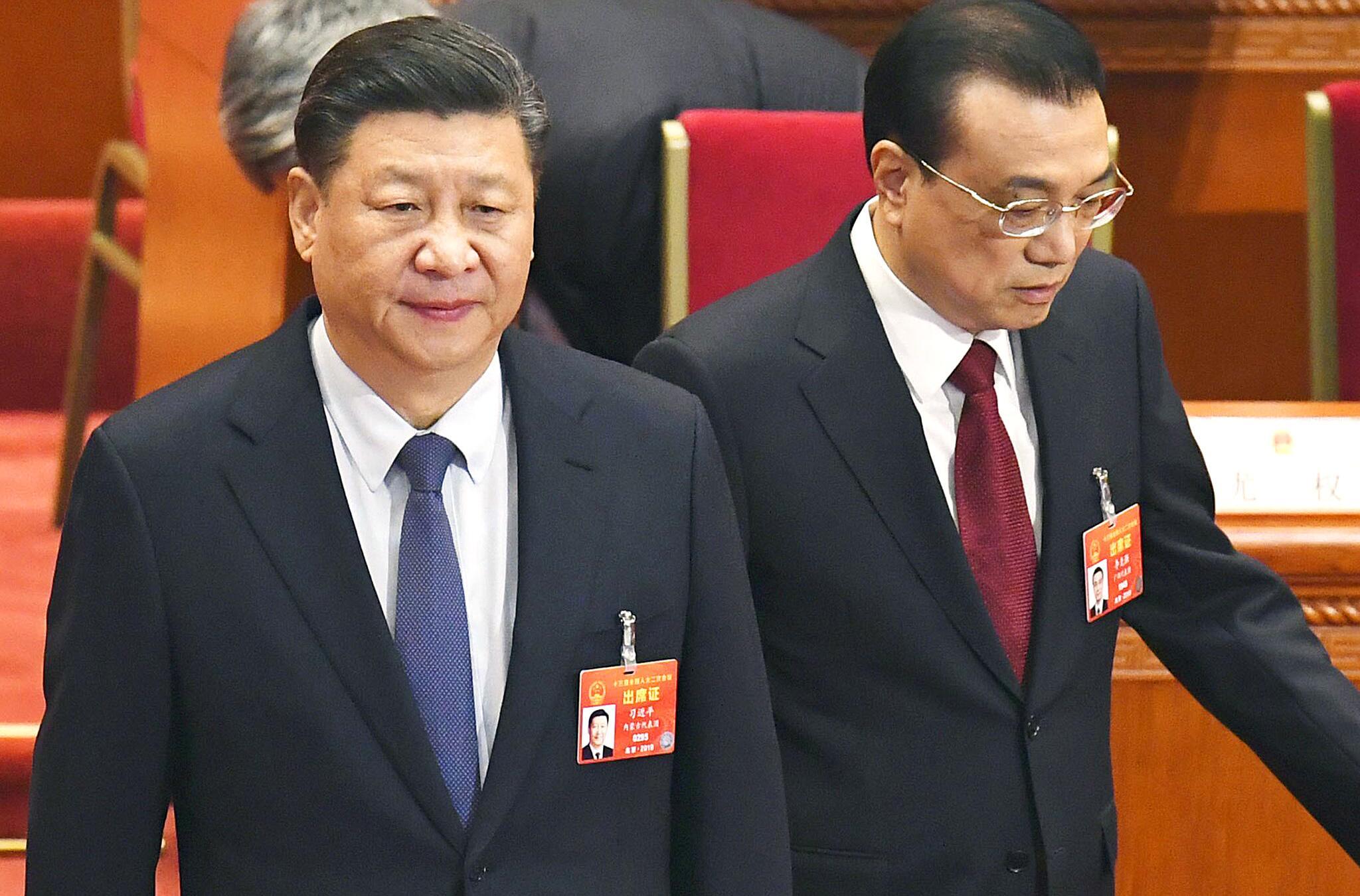 Bild zu Xi Jinping, Li Keqiang