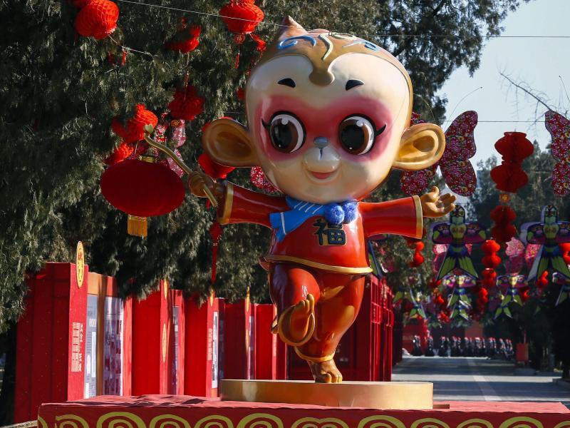 Bild zu Jahr des Affen