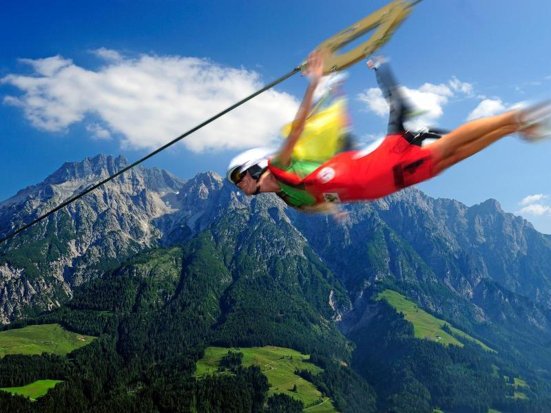 Bild zu Flying Fox in Leogang