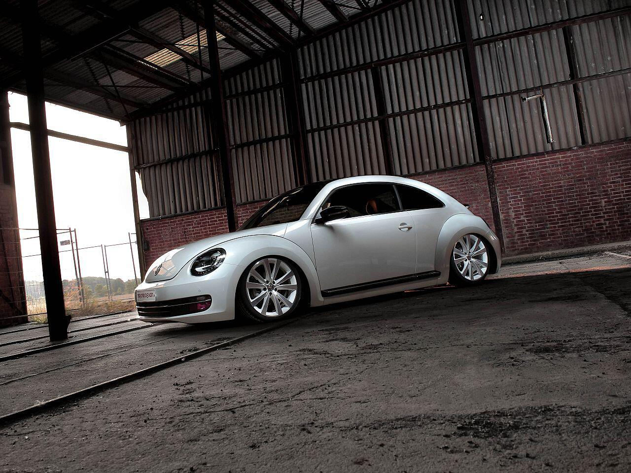 Bild zu Die Tuningschmiede MR Car Design hat sich den VW Beetle vorgeknöpft