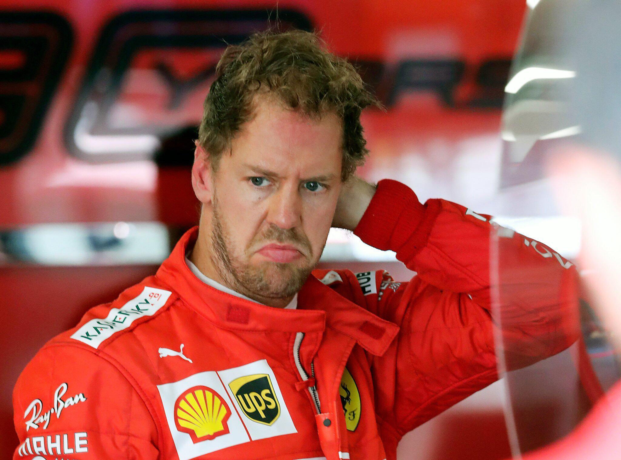 Bild zu Sebastian Vettel