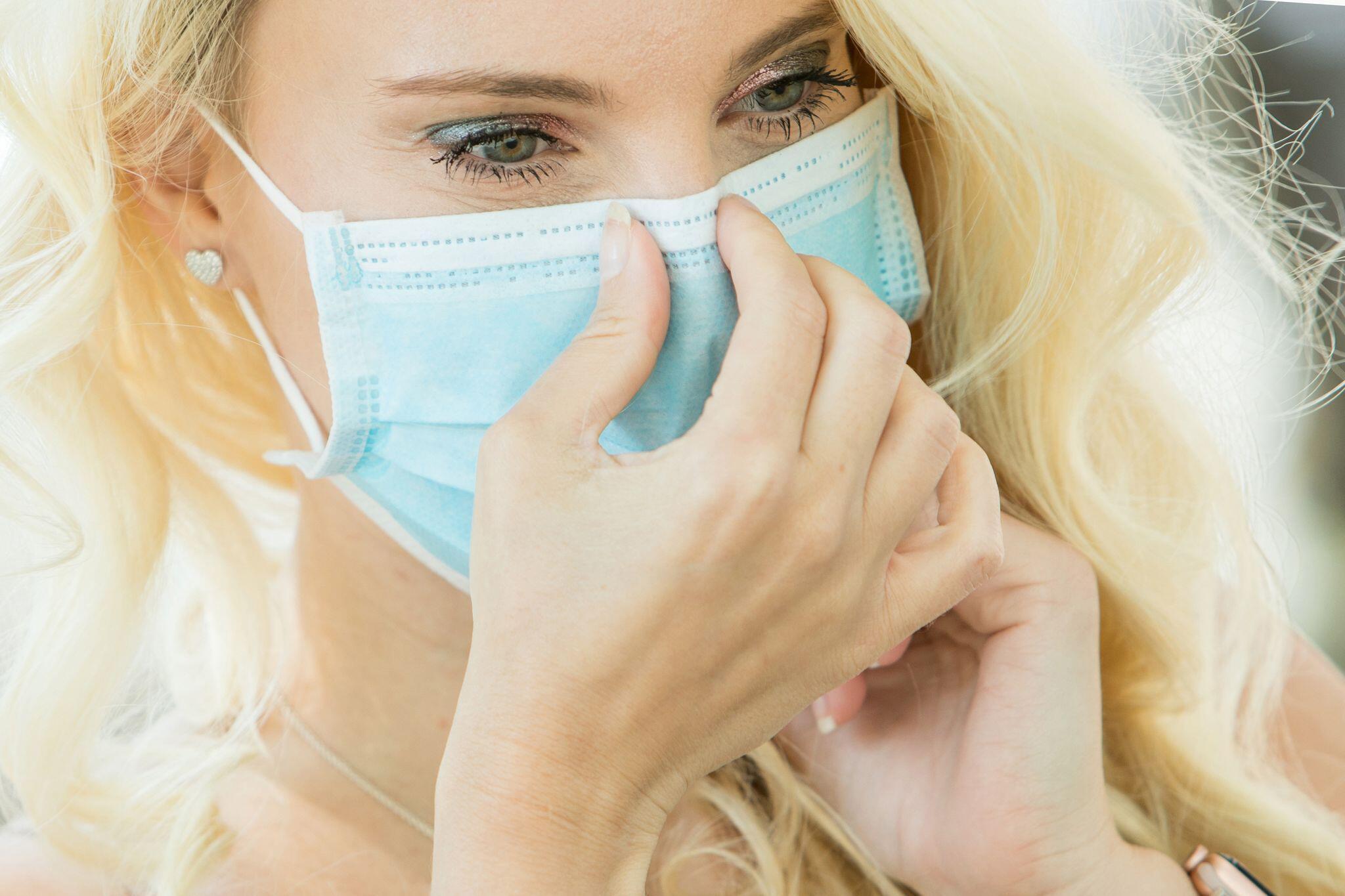 Bild zu Mundschutz und Make-up: Tipps zum Schminken für Maskenträger