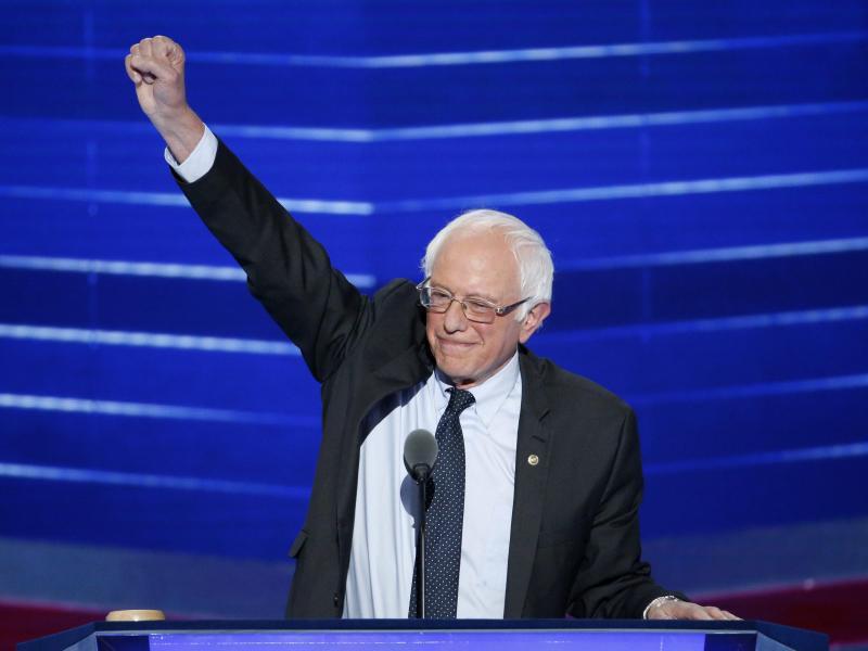 Bild zu Bernie Sanders in Philadelphia