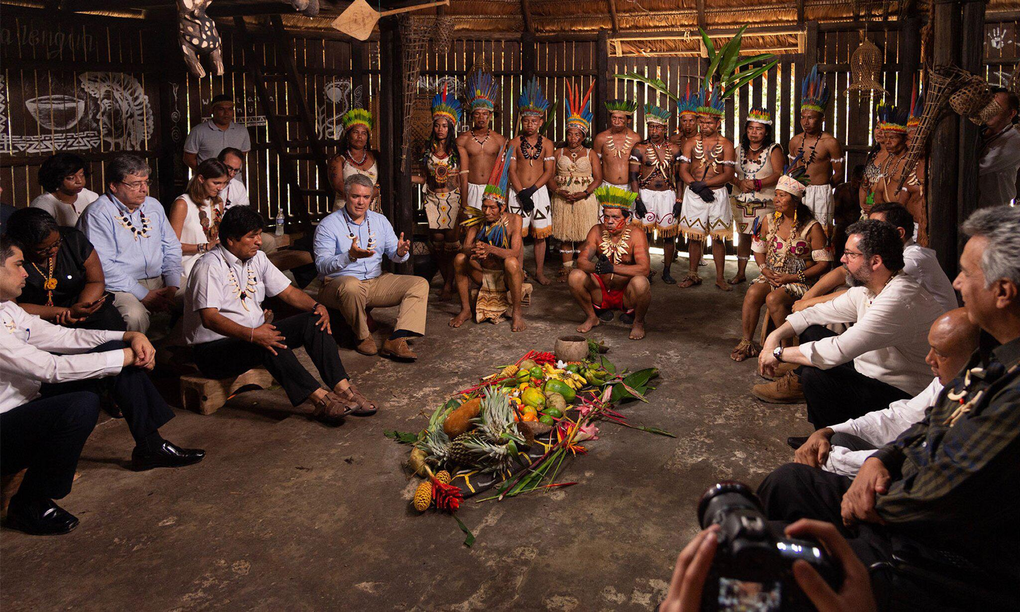 Bild zu Amazonas-Länder beraten über Umwelt- und Entwicklungspolitik