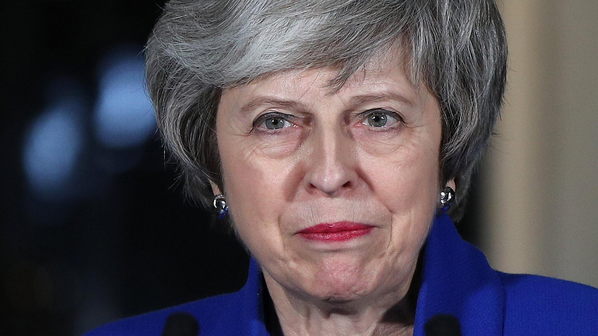 Bild zu Theresa May