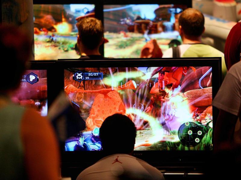 Bild zu Computerspieler bei der Gamescom
